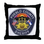 Pueblo Sheriff Throw Pillow