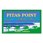 PITAS POINT Rectangle Sticker