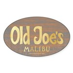 Old Joe's Oval Sticker