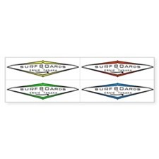 Tanaka Surfboards 4for1 Bumper Sticker