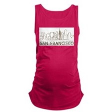 Vintage San Francisco Maternity Tank Top