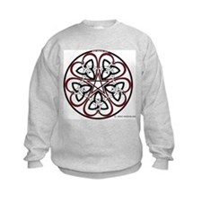 Celtic Heart Pentacle3 Sweatshirt