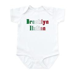 Brooklyn New York Italian Infant Bodysuit