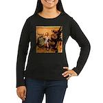 Hudson 9 Women's Long Sleeve Dark T-Shirt