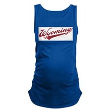 Retro Wyoming Maternity Tank Top