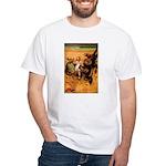 Hudson 9 White T-Shirt