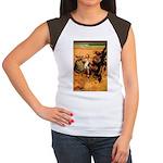 Hudson 9 Women's Cap Sleeve T-Shirt