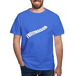 Masonic Simply Free Mason Dark T-Shirt