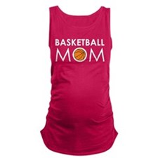 Basketball Mom Maternity Tank Top