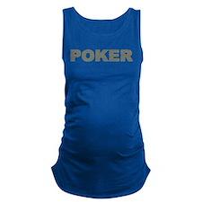 US Bills Poker Maternity Tank Top