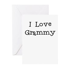 I Love Grammy Greeting Cards (Pk of 10)
