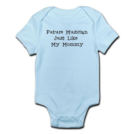 Future Musician Just Like Mommy Body Suit