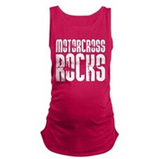 Motorcross Rocks Maternity Tank Top