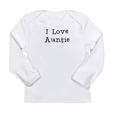 I Love Auntie Long Sleeve T-Shirt