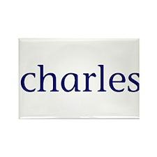 Charles Rectangle Magnet