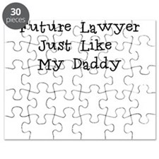 Future Lawyer Like Daddy Puzzle