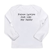Future Lawyer Like Daddy Long Sleeve T-Shirt