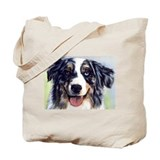 Cool Australian shepherd Tote Bag