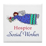 Hospice SW Angel Tile Coaster