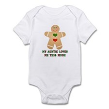 My auntie loves me Infant Bodysuit