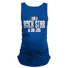 Rock Star In San Jose Maternity Tank Top