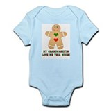 My grandparents love me Infant Bodysuit