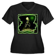 Alien Abduction Plus Size T-Shirt