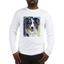 Cute Australian shepherds Long Sleeve T-Shirt