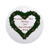 *Surrobaby's First Christmas* Ornament (Round)