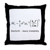 Starbirth Throw Pillow
