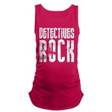 Detectives Rock Maternity Tank Top