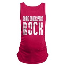 Game Developers Rock Maternity Tank Top