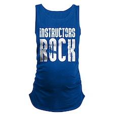 Instructors Rock Maternity Tank Top