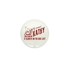 Nice List Kathy Christmas Mini Button (100 pack)