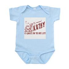 Nice List Kathy Christmas Onesie