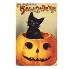 Vintage Halloween, Cute B Postcards (Package of 8)