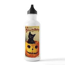 Vintage Halloween, Cut Sports Water Bottle