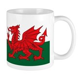 welsh dragon Small Mugs