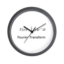 Fourier Transform Wall Clock