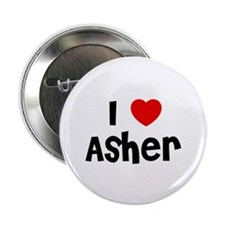 "I * Asher 2.25"" Button (10 pack)"