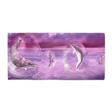 Dream Of Dolphins Beach Towel