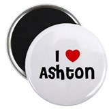 I * Ashton 2.25&quot; Magnet (10 pack)