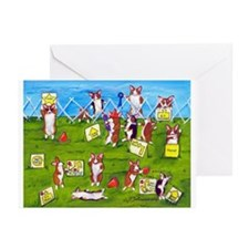 Rally O No! Greeting Cards (Pk of 10)