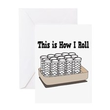 How I Roll (Hair Rollers/Curlers) Greeting Card
