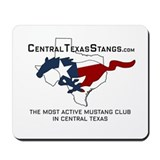 Central Texas Stangs Mousepad