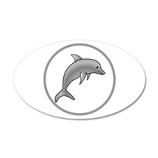 Fun Dolphin Wall Decal
