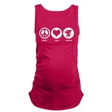 Peace Love Griffin Maternity Tank Top