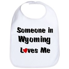 Wyoming Loves Me Bib