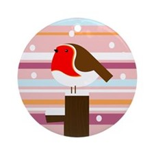 Rocking Robins Ornament (Round)