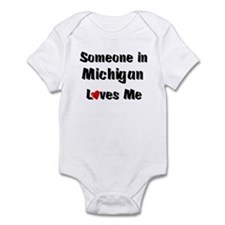 Michigan Loves Me Infant Bodysuit